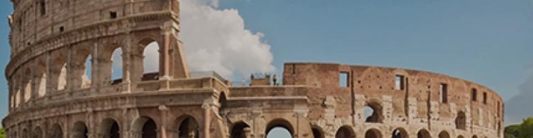 Koloseum - Itálie - cestování - dovolená v itálii - Panda na cestach - panda1709