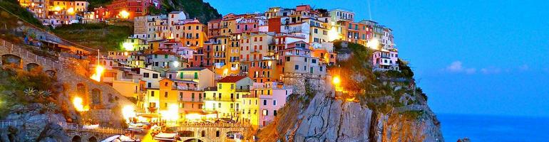 Cinque terre - Italie - cestování - dovolená v itálii