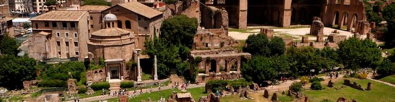 PA_0012_00_Forum Romanum nebo také Římské fórum - Řím - Italie - cestování - dovolená v itálii