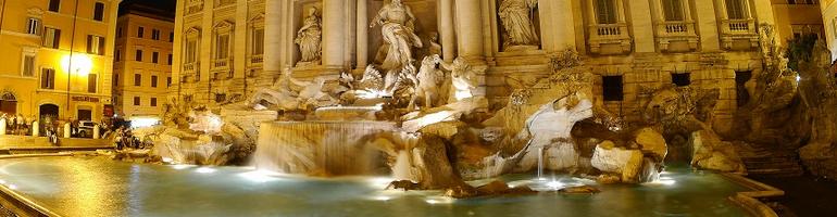 nejkrásnější fontána v římě