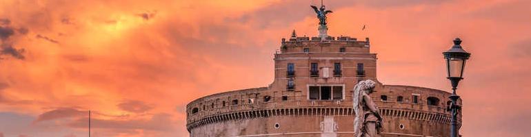 nejkrásnější hrad v římě - řím