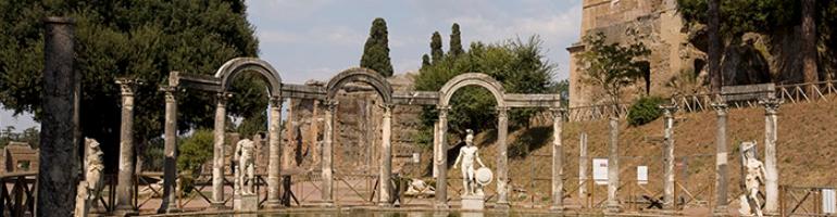 PA_0033_00_Hadrianova vila (villa adriana) - letovisko bohatých Římanů- Italie - cestování - dovolená v itálii - Panda na cestach - panda1709