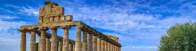 PA_0048_00_Paestum a tři středověké Řecké chrámy - Italie - cestování - dovolená v itálii - Panda na cestach - panda1709