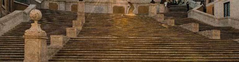 PA_0051_00_Španělské schody - Scalinata di Trinità dei Monti - Řím - roma - Italie - cestování - dovolená v itálii - Panda na cestach - panda1709