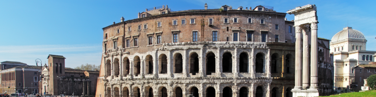 PA_0053_00_Marcellovo Divadlo - Theatrum Marcelli - Teatro di Marcello - The Theatre of Marcellus - Řím - roma - Italie - cestování - dovolená v itálii - Panda na cestach - panda1709
