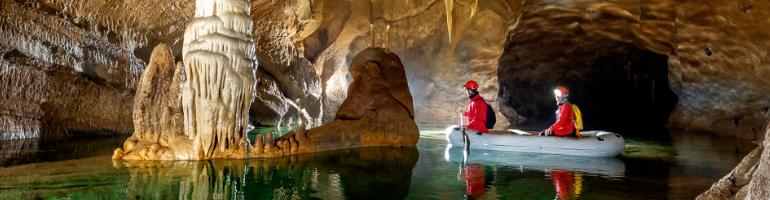 PA_0138_00_ Nejkrásnější jeskyně ve Slovinsku - Križna jama - Slovinsko - cestování - dolovelná - Panda na cestach - panda1709